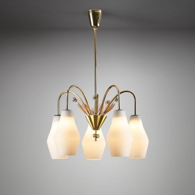 Paavo Tynell 'K1-9/5' Ceiling Lamp for Idman Oy, Finland 1950s