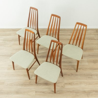 1960s dining chairs by Niels Koefoed