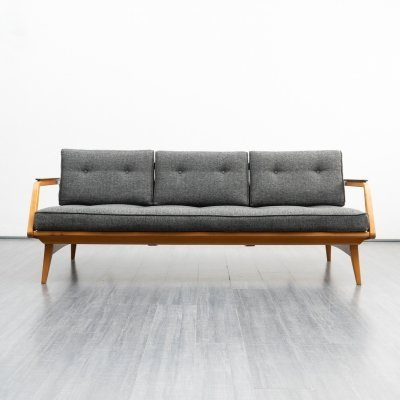 1950s cherrywood sofa / daybed
