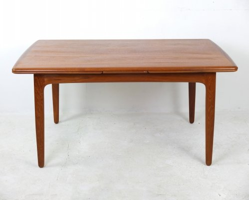 Extendable Dining Table by Svend Åge Madsen for K. Knudsen & Søn, 1960s