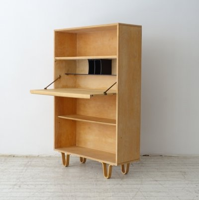 Birch series cabinet by Cees Braakman for Pastoe, 50's