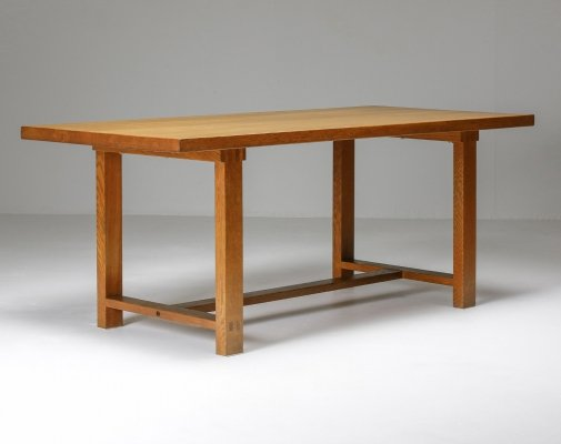 Pierre Chapo Dining Table, 1960's