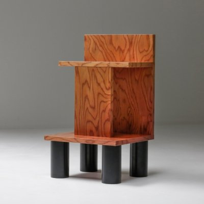 Memphis Style Ettore Sottsass Side Table, 1980's