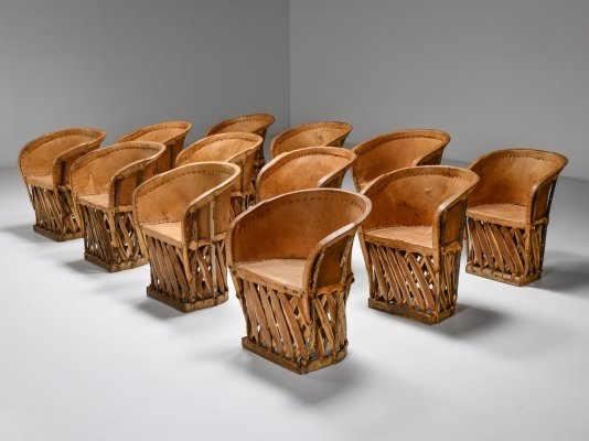 Mexican Art Populaire Dining Chair, 1970s