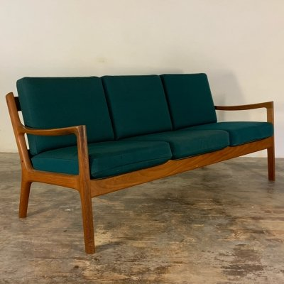 Three seater sofa by Ole Wanscher for France & Søn, Denmark 1960