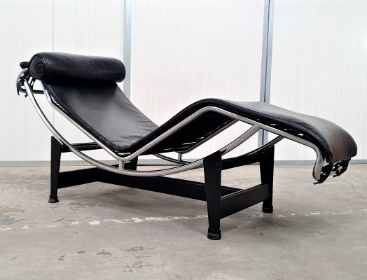 Chaise Longue LC4 by Le Corbusier for Cassina, 1990s