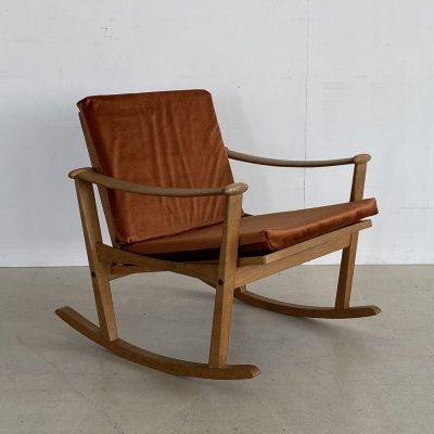 Model 66 rocking chair by M. Nissen for Pastoe, 1950s
