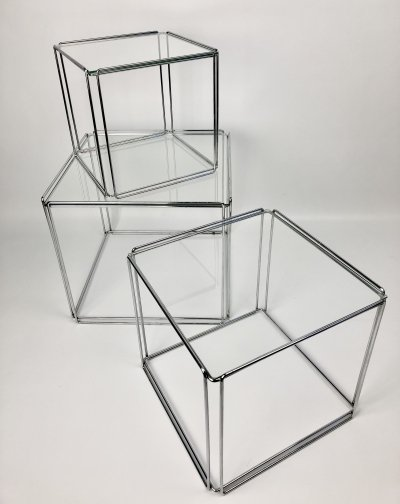 Isocèle nesting tables by Max Sauze for Atrow, France 1970