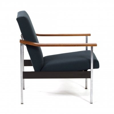 Adjustable Gispen 1424 Easy Chair by Andre Cordemeyer, 1960s