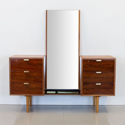 Robin Day Interplan Rosewood Dressing Table by Hille, 1950s
