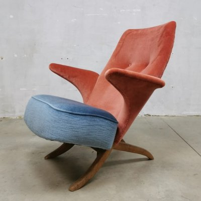 Pinguin arm chair by Theo Ruth for Artifort, 1950s
