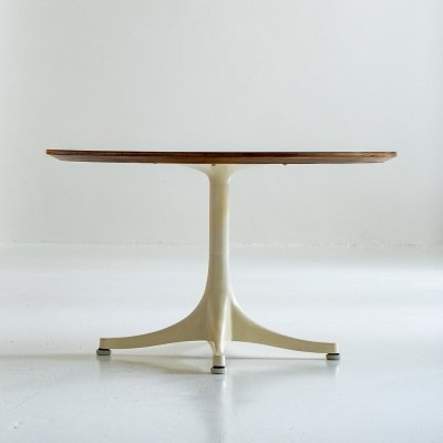 George Nelson Pedestal occasional coffee table no. 5452 by Herman Miller, 1970s