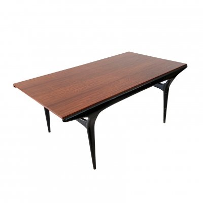 Very rare 'T4' dining table by Alfred Hendrickx for Belform, 1950s