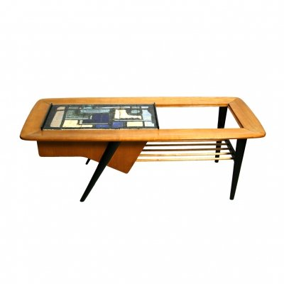 Cocktail Table Model 210 by Alfred Hendrickx for Belform, 1950s