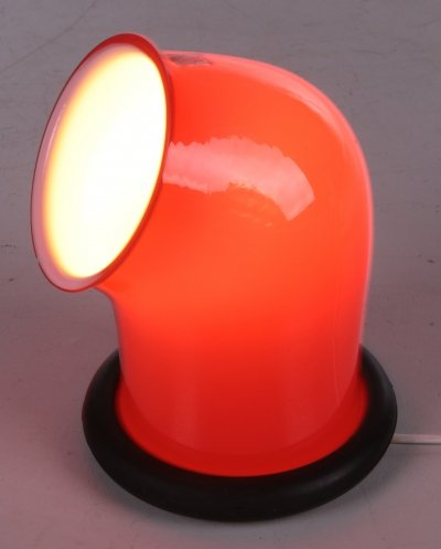 Vintage 'Epoke' Table Lamp by Michael Bang for Holmegaard, 1972