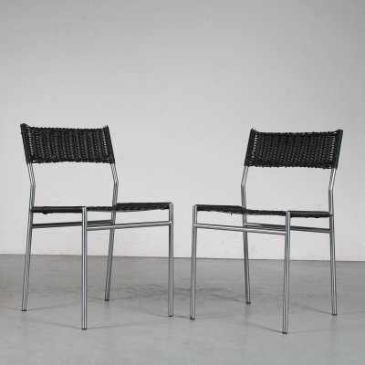 1960s Dining chairs by Martin Visser for Spectrum, the Netherlands