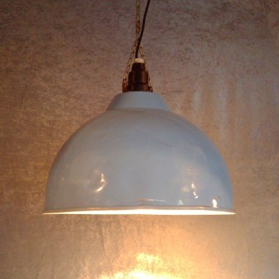 Industrial (converted agriculture heating lamps) pendants, 1980s