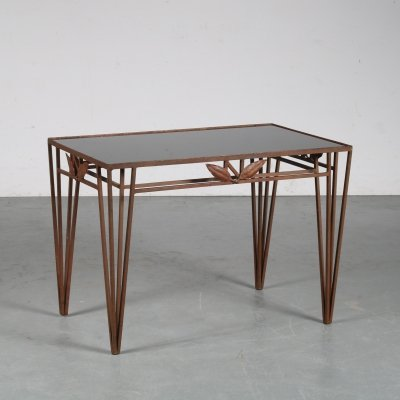 1950s Hollywood Regency coffee table from France