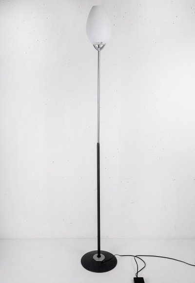 Floor Lamp with Murano Glass by Lucente, Italy