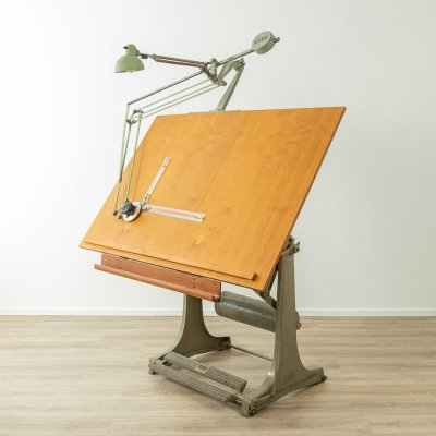 1950s architect's table by ISIS Germany