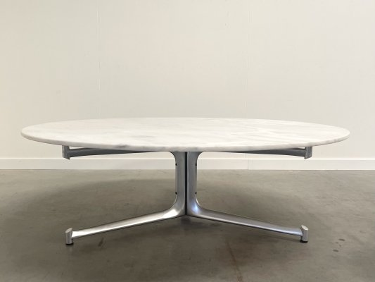 Large marble coffee table by Fabricius & Kastholm for Kill, 1960s