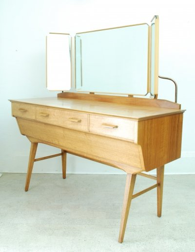 Alfred Cox Mid Century Dressing Table, 1950s