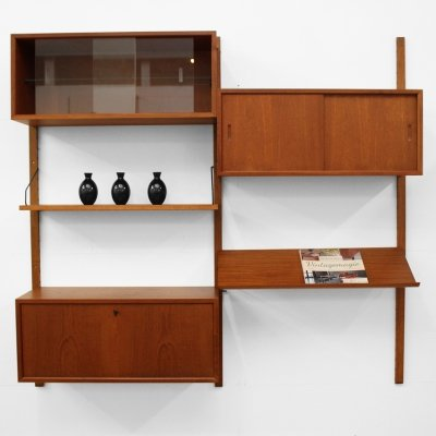 Wall unit by Poul Cadovius, 1950s