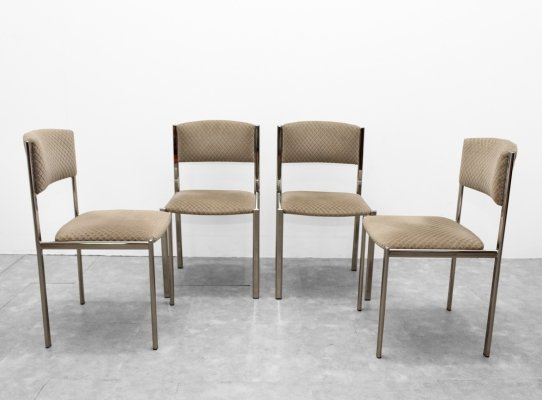 Set of 4 seventies chairs