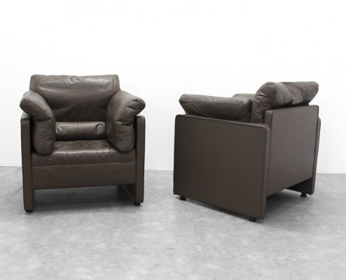 Couple of 'Nicolas' one seaters by Durlet, 1970s