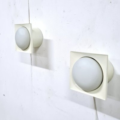 Space age wall lamps by Raak Amsterdam, Netherlands 1960s