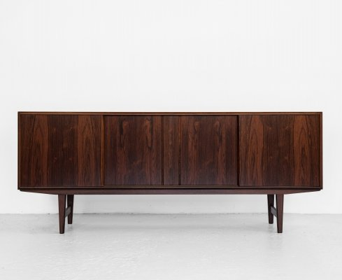 Midcentury Danish sideboard in rosewood by EW Bach for Sejling Skabe, 1960s