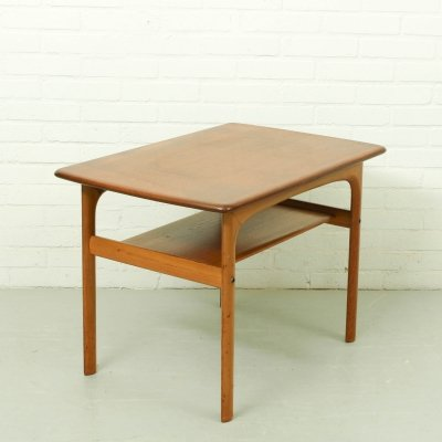 Mid century two-tiered side table by Rasmus Solberg, Norway 1960s