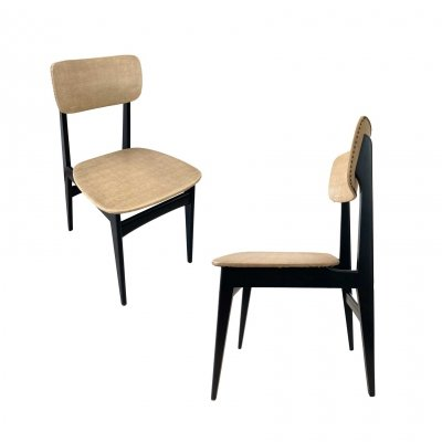 Set of 6 Alfred Hendrickx S4 dining chairs, 1955