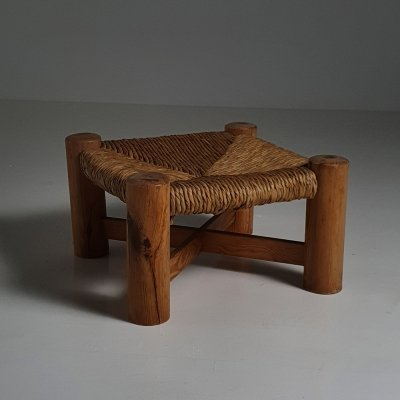 1960s Rush stool by Wim den Boon