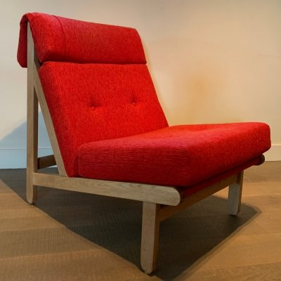 Set of 5 Rag lounge chairs by Bernt Petersen for Schiang Furniture, Denmark 1960