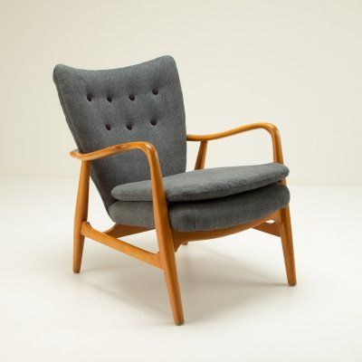 MS6 Chair by Ib Madsen & Acton Schubell, Denmark 1950s