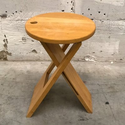 Suzy folding stool by Adrian Reed for Princes design works