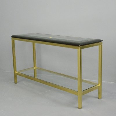Hollywood Regency Console Table, Circa 1970s