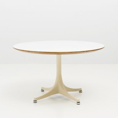 Pedestal Coffee Table by George Nelson for Herman Miller, USA 1950's