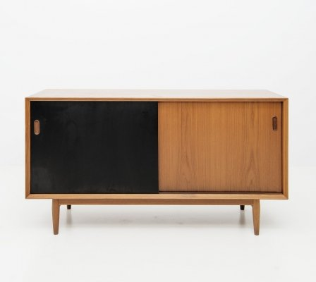 Small Sideboard with Reversible Doors by Arne Vodder for Sibast, 1960's