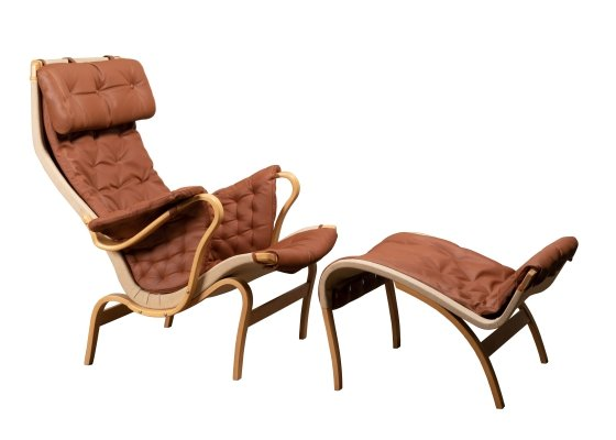 Pernilla Easy Chair by Bruno Mathsson for Dux, 1970s