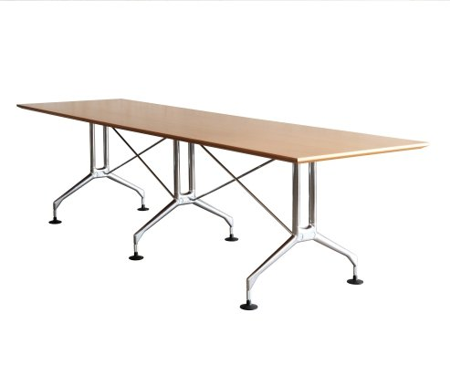 2 x Spatio dining table by Antonio Citterio for Vitra, 1990s