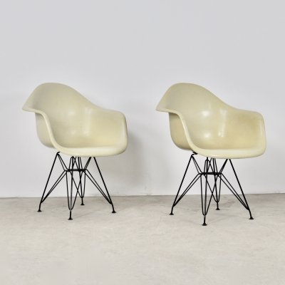 Pair of Armchairs by Charles &Ray Eames for Herman Miller, 1970s