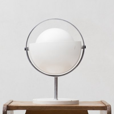 Moon table lamp by Flemming Brylle & Preben Jacobsen for Quality System, 1960s