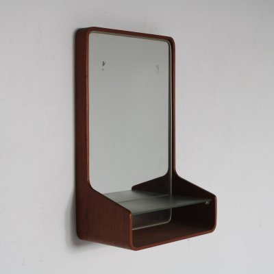 1950s 'Euroika' mirror unit by Friso Kramer for Auping, Netherlands