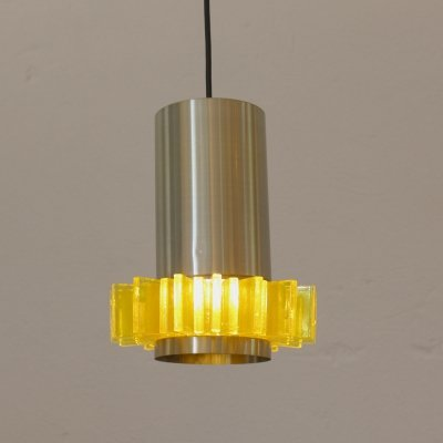 Pending lamp by Claus Bolby by Cebo Industries, Denmark 1960s