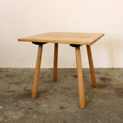 Swiss made table in solid wood, Switzerland 1950s
