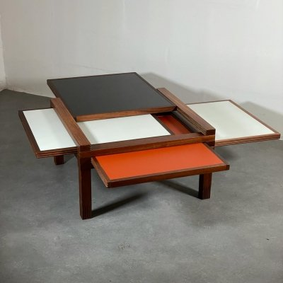 Early PAR 4 coffee table by Bernard Vuarnesson for Bellato, 1980s