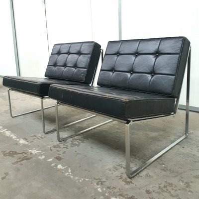 Set of 2 '024' chairs by Kho Liang Ie for Artifort, 1960s