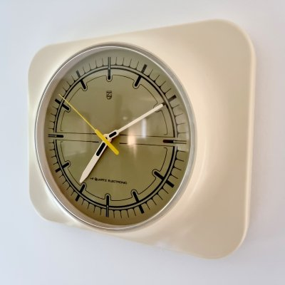 Space age retro HR 5574 wall clock by Philips, 1970s70s